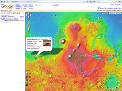 Google Mars For Directions