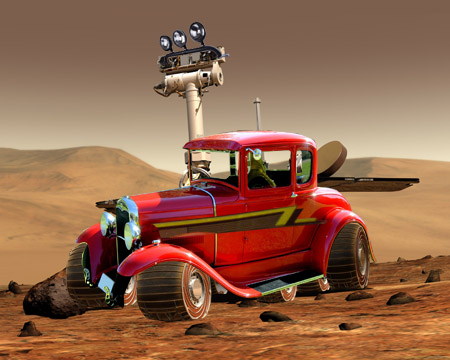 Mars Rover...or Tricked Out ZZ Top Rover?