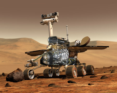 Mars Rover With More Power