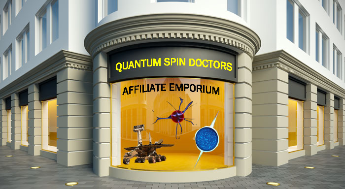 Quantum Spin Doctors Affiliate Shop And Emporium