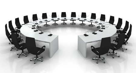 This is where the GAU executive committee meets
